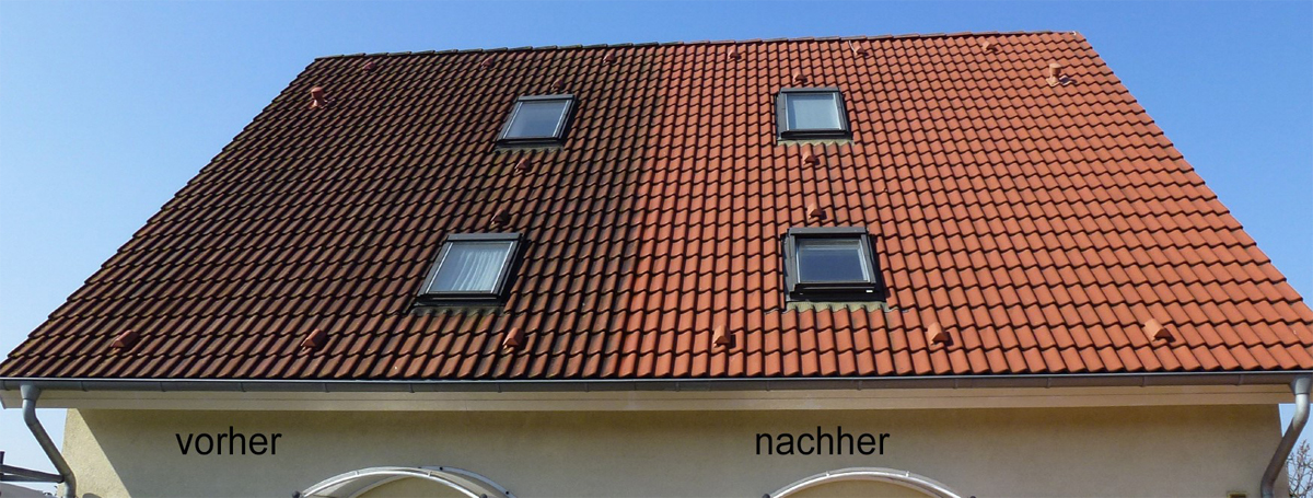 Berühmt Dachreinigung und Kontrolle | Fassadenclean GmbH GU36